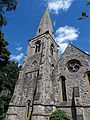 Church of the Holy Innocents, High Beach, Essex, England - tower and nave from southwest.jpg