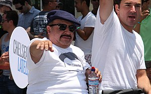 Chuy Bravo - Bravo at West Hollywood Gay Pride Parade in 2013