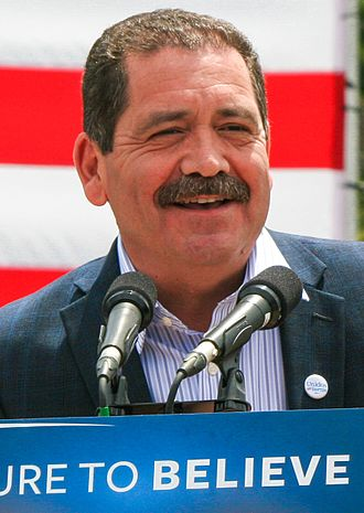 Chicago mayoral election, 2015 - Image: Chuy García by Rev Dills