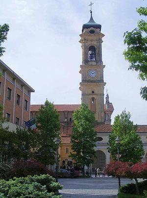 Cigliano - Image: Cigliano campanile