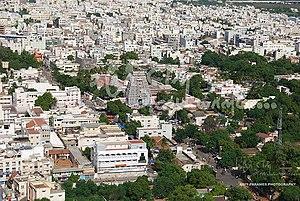 Karur - Aerial view Karur