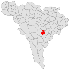 Location in Alba County