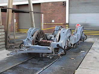 South African Class 6E1, Series 1 - Bogie frame and wheels