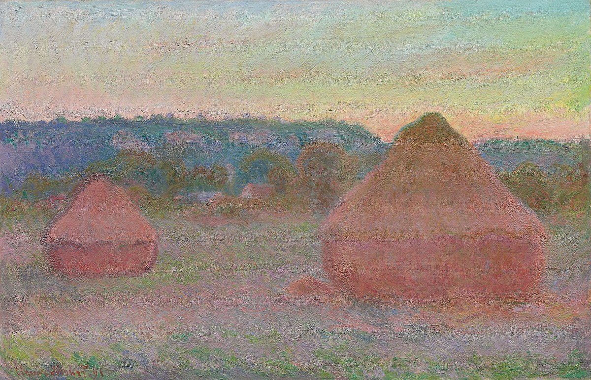File:Claude Monet - Stacks of Wheat (End of Day, Autumn) - 1933.444 - Art  Institute of Chicago.jpg - Wikimedia Commons