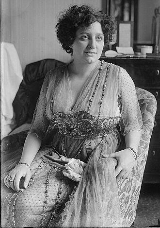 Claudia Muzio - Muzio in 1916