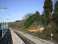 Clearing the trackside, Rogerstone Station - geograph.org.uk - 1157186.jpg