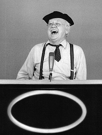 Cliff Arquette - Arquette as Charley Weaver on Hollywood Squares in 1974.