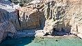 Cliff path leading to Tsigrado Beach on Milos Island, Greece.jpg