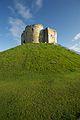 Cliffords Tower atop earthwork.jpg