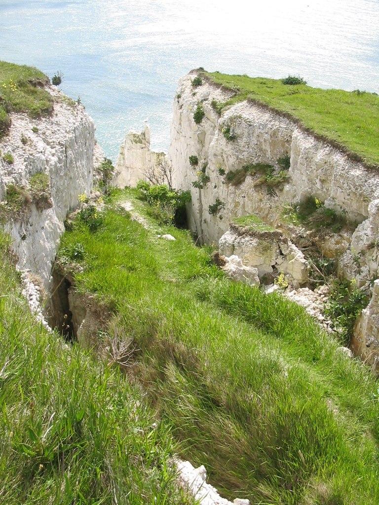 Cliffs of Dover erosion
