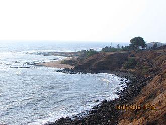 Diveagar - Image: Cliffside Beach Drive