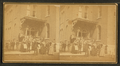 Clinton - group of young men and women posing on steps of a school (?), from Robert N. Dennis collection of stereoscopic views.png