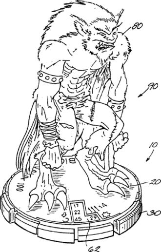 WizKids - Example of a Clix figure