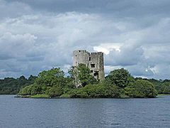 Clogh Oughter Castle Cavan Ireland geograph 1405851 by Oliver Dixon.jpg