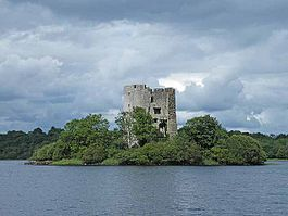 Clogh Oughter Castle Cavan Ireland geograph 1405851 by Oliver Dixon