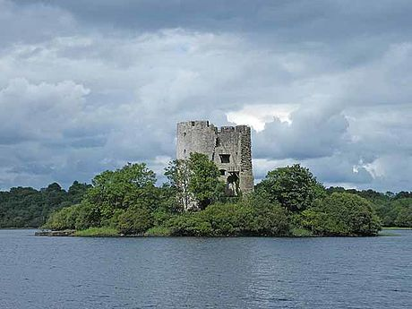 The initially Norman Cloughoughter Castle was captured & completed by the O'Reillys in 1233 Clogh Oughter Castle Cavan Ireland geograph 1405851 by Oliver Dixon.jpg