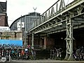 Close-up of old train viaduct on the eastside of Amsterdam Central Station, photo 2006.jpg