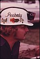 Closeup of a Member of the Peabody Coal Company Team That Is Competing in the Kentucky State Mine Safety Contest at Benham near Cumberland 10-1974 (3906468893).jpg