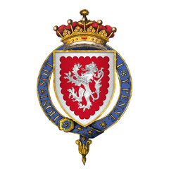 Coat of Arms of Sir John Grey, 1st Earl of Tankerville, KG.png
