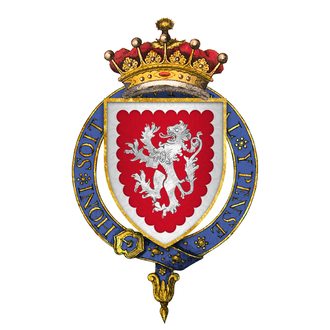 John Grey, 1st Earl of Tankerville - Arms of Sir John Grey, 1st Earl of Tankerville, KG