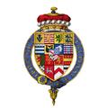 Coat of arms Sir Robert Sidney, 1st Viscount Lisle, KG.png