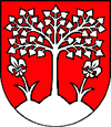 Coat of arms of Brezová pod Bradlom