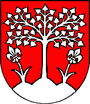 Coat of arms of Brezová pod Bradlom.png
