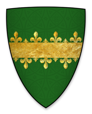 William Hardell - Arms of William Hardell, Lord Mayor of London