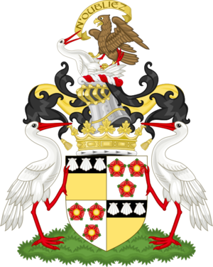 Duke of Montrose - Image: Coat of arms of the duke of Montrose