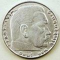 Coin photography - Nazi Germany - 2 Reichsmark - Deutsches Reich 1938 - Paul von Hindenburg - Photo by Kevin Dooley - - 28220035812.jpg