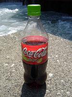 Bottiglia della Coca-Cola Lime