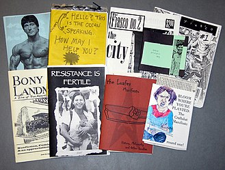 Citizen media - The following are examples of zines from the Colorado College Tutt Library.