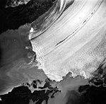 Columbia Glacier, Heather Island, Calving terminus, August 27, 1963 (GLACIERS 1017).jpg