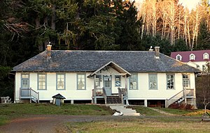 National Register of Historic Places listings in Pacific County, Washington - Image: Columbia River Quarantine Station Knappton Washington