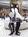 Comiket 83 - Homura Akemi cosplay 2.JPG