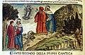 Commento di cristoforo landino sopra la comedia di dante..., incunabolo per niccolò di lorenzo della magna, firenze 1481, 02 proemio (incisione su dis. di botticelli).jpg