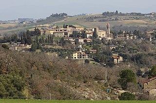 Compignano Frazione in Umbria, Italy