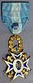 Condecoración de la real y distinguida orden de Carlos III.jpg