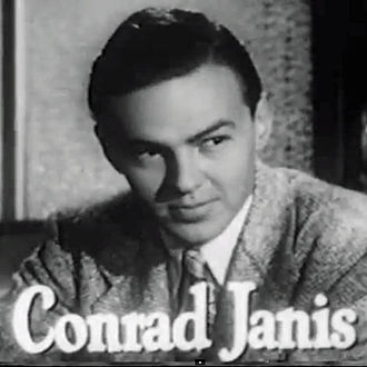 Conrad Janis - Conrad Janis in trailer for The Brasher Doubloon (1947)