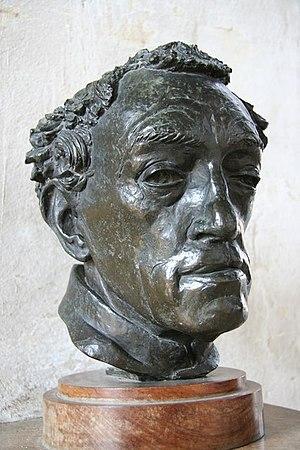 Gertrude Hermes - Bronze sculpture of Conrad Noel created by Hermes