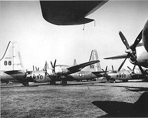 Marine Corps Air Facility Walnut Ridge - Consolidated B-32 Dominators awaiting the smelter at RFC Walnut Ridge, 1946 (Serial 42-108562 visible)