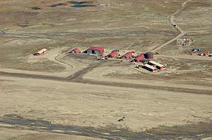 Nerlerit Inaat Airport - Nerlerit Inaat from Harris Fjeld