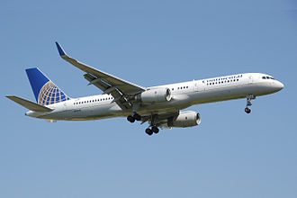 Continental Airlines - Boeing 757–200 in 1991–2011 livery