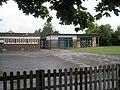 Contrasting building styles at Langstone Junior School - geograph.org.uk - 856257.jpg