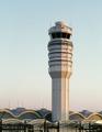 Control tower at Ronald Reagan Washington National Airport, Arlington, Virginia LCCN2011634425.tif