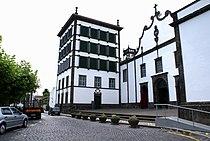 Convento da Esperança, Igreja de Santo Cristo dos Milagres, ilha de São Miguel, Açores.JPG