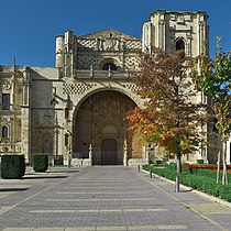 Convento de San Marcos (León). Fachada de la iglesia