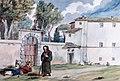 Convento di Sant'Antonio Abate by Achille Pinelli (ca. 1830).jpg