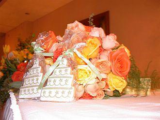 Nosegay - Image: Cookies bouquet