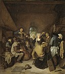 Cornelis Pietersz. Bega Peasants making music and dancing.jpg